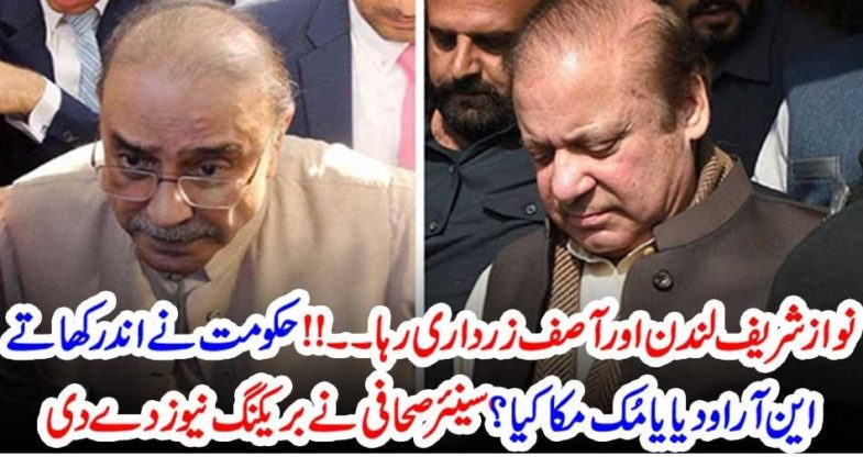 nawaz shareif, in, London, and, Asif Zardari, out, of, Prison, Senior, Journalist, revealed, the, NRO, aggrement, between, Government, and, Opposition