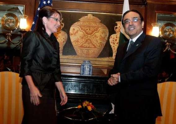 WHAT, WAS, HAPPENED, TO, ASIF ZARDARI, AND, SARA PALAN, IN, 2009