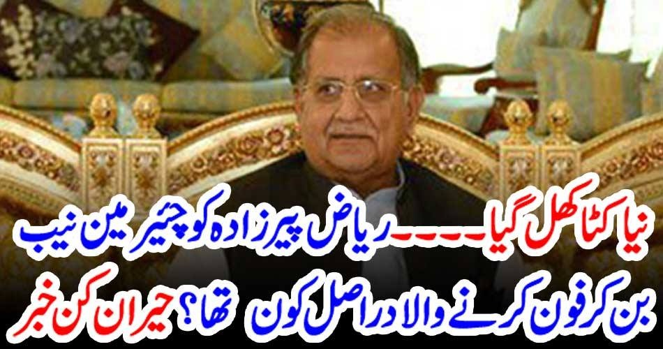 a, phone, call, to, Riaz Pirzada, by, a, fake, chairman, NAB