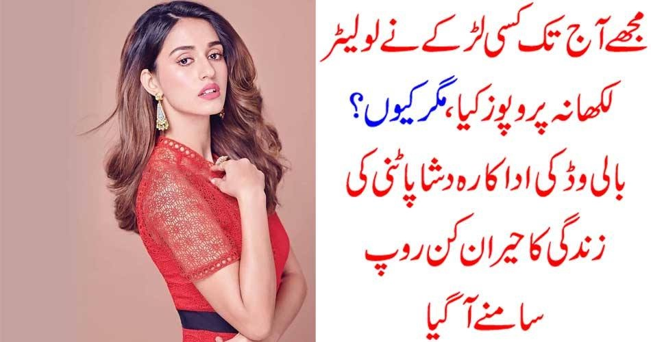 disha patani, says, she, did, not, finds, anyone, who, proposed, her, in, entire, life